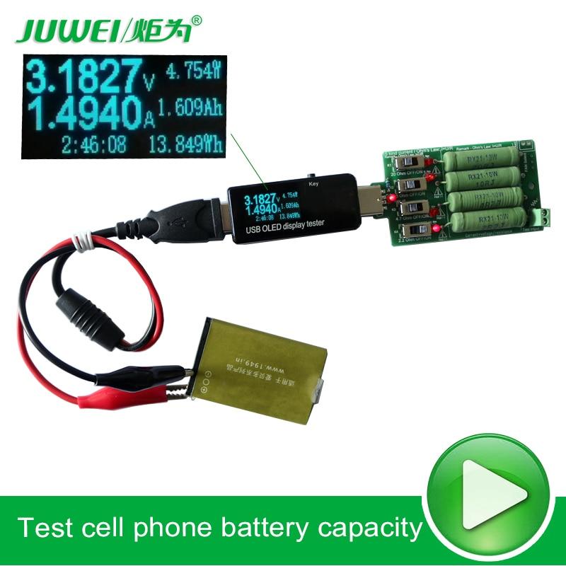 Probador de batería / USB Voltímetro de CC amperímetro 18650 - Instrumentos de medición - foto 5