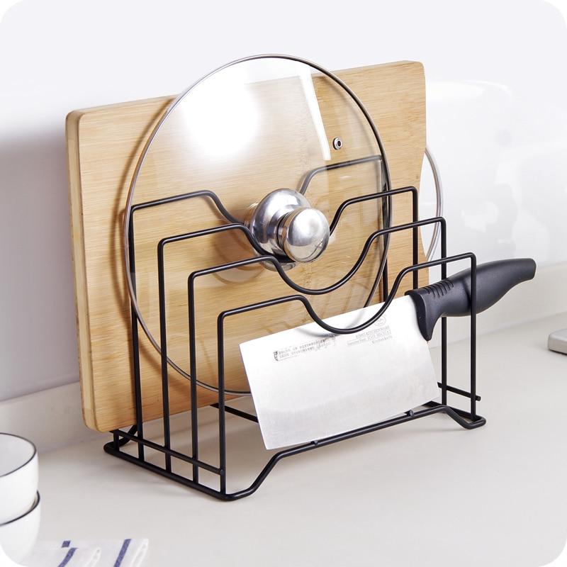 aihook kitchen accessories 4 layers pot lid shelf kitchen organizer pan cover lid rack stand. Black Bedroom Furniture Sets. Home Design Ideas