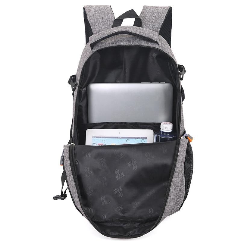 Image 3 - 2019 Men Backpack Oxford Male Travel bag Backpacks fashion men and women Designer student bag laptop bag High capacity backpack-in Backpacks from Luggage & Bags