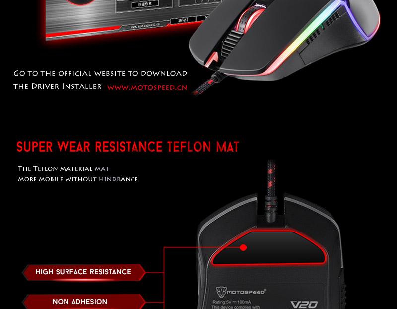 Cheap game mouse