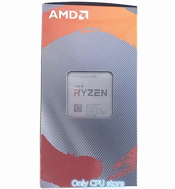 AMD Ryzen 5 3600 R5 3600 3 6 GHz Six Core Twelve Thread CPU