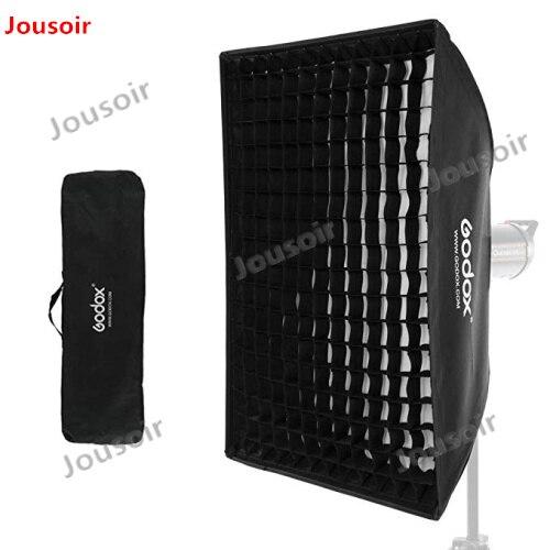 2x Godox 32 x 47 80x120 см сотовая сетка софтбокс мягкая коробка с креплением Bowens для студии стробоскопическая вспышка CD50