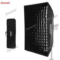2x Godox 32 х 47 80x120 см Сотовые Сети Softbox Мягкая коробка с Bowens крепление для студия Строб вспышка света CD50