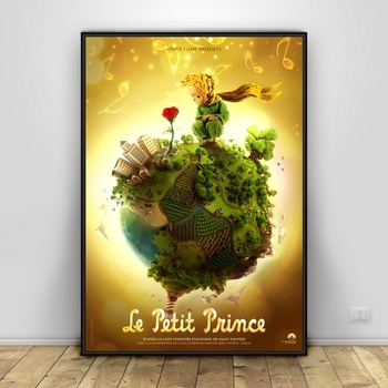 The Little Prince Art Silk Poster Home Decor 12x18 24x36inch