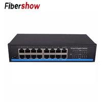 16 Port Gigabit Switch bps Full Duplex Gigabit Ethernet Switches 10/100/1000M