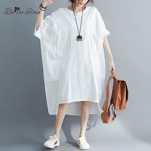 BelineRosa 教徒のスタイルの女性のシャツドレスビッグサイズドレス 4XL 5XL 6XL プラスサイズドレス Tシャツドレス女性 YPYC0012