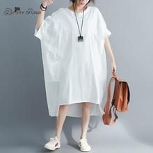 BelineRosa Müslüman Tarzı kadın gömlek Elbise Büyük Boyutları Elbise 4XL 5XL 6XL Artı Boyutu Elbise T shirt Elbiseler Kadın YPYC0012