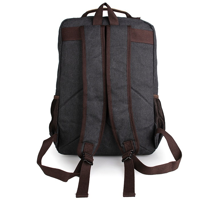 J M D Fashion Canvas Bookbag Travel Backpack College Student School Preppy Style Backpack Bags Backpack Rucksack 9022A B N K in Backpacks from Luggage Bags