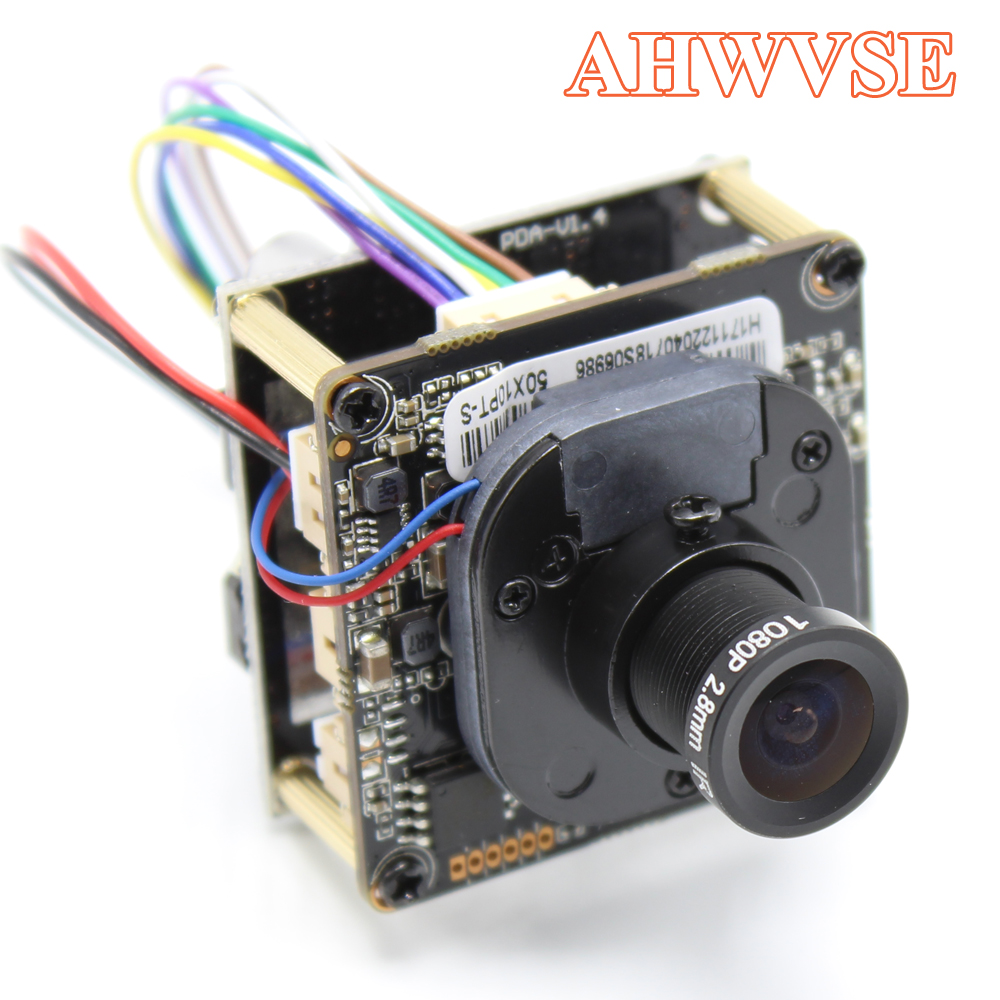 AHWVE POE IP Camera module Board with IRCUT DIY CCTV Camera 720P 960P 1080P 2MP ONVIF H264 Mobile APP XMEYE 2.8mm Lens наталья землянская хельсинки в кармане путеводитель