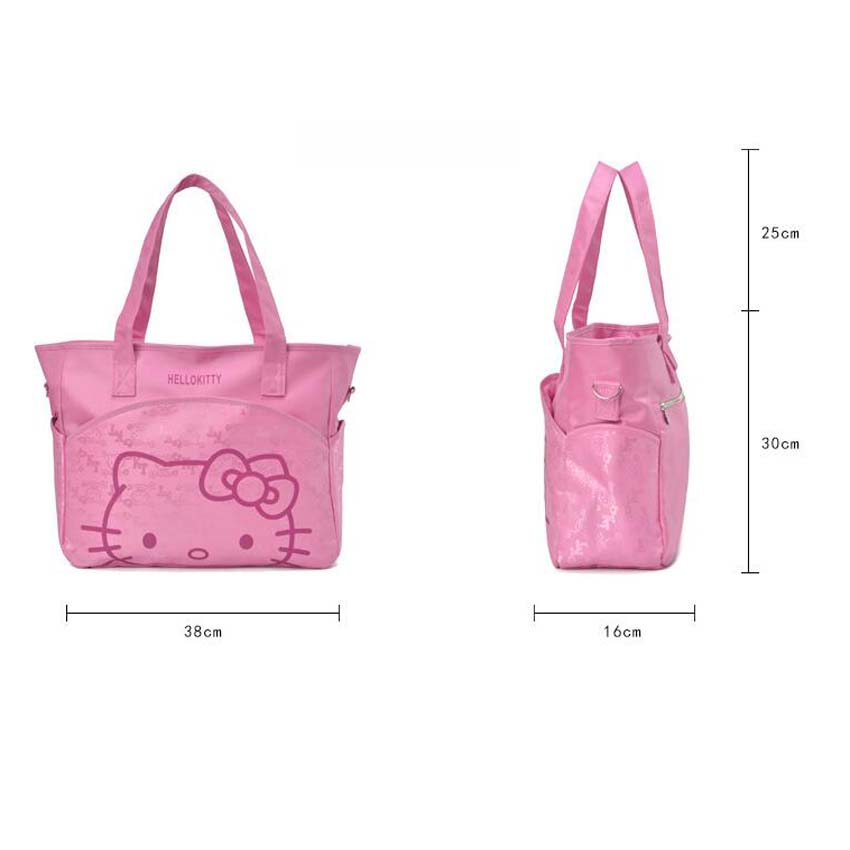 2ef895dfdad ... 313714 cm Canvas Baby Diaper Bag For Mom Mummy Mother Hello Kitty  Maternity Nappy Bags Thermal ...