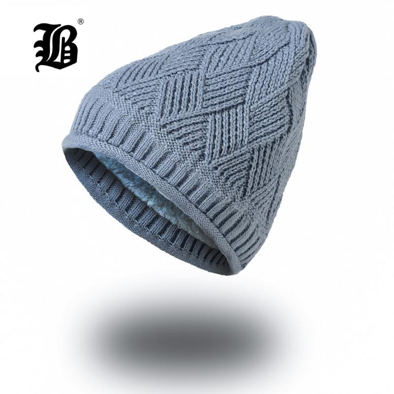 [FLB] Women Winter Hat Brand   Skullies     Beanies   Knitted Hat Girls Warm Cap   Beanie   Hats Fashion Autumn Warm Winter Cap FK7717