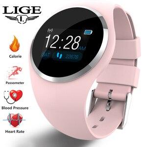 LIGE Smart Watch Women Sport F