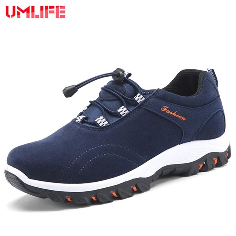 UMLIFE Men's Waterproof Hiking Shoes Outdoor Mountain Climbing Shoes Hiking Men Trekking Sneakers Anti-Slippery Sport Shoes Men цена