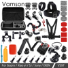 Vamson Action Camera Accessories Set Kit For Gopro Hero6 4 5 For Yi 4K Chest Clamp