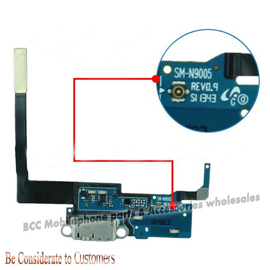 For Samsung  Note 3 N9005 N9006 N9008 USB mic Charging Charger connector Dock Port Cable 100% Original best quality