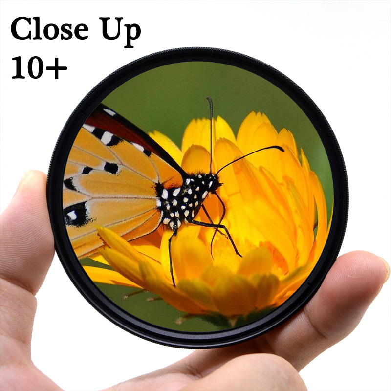 KnightX Macro close up Camera Lens Filter For canon sony nikon d80 50d 400d d5100 photo light 700d 49 52 55 58 62 67 72 77 mm image