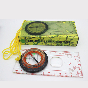 Compass Map Scale Refers To The North Compass Map Scale Multifunctional Compass Scale Outdoor Orientation Compass kanpas basic competiton orienteering thumb compass free ship ma 40 fs from compass factory