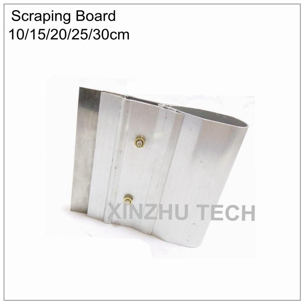 10cm 15cm 20cm 25cm 30cm Steel Paste Squeegee Scraping Board SMT Stencil Scraper Tin Solder Paste Scraping Knife Scraper