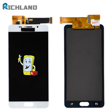 New LCD For Samsung Galaxy A5 2016 LCD Display A510 A510F A510M SM-A510F Touch Screen Pantalla Digitizer LCD Replacement adjust lcd screen touch glass digitizer for samsung galaxy s6 active g890a white replacement pantalla parts