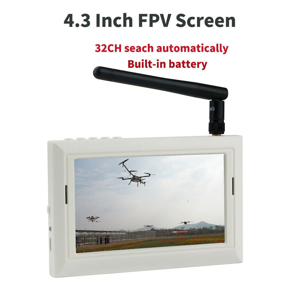 LDARC 4.3 Inch TFT LCD Display FPV Monitor Built-in Battery For FPV Racing DroneLDARC 4.3 Inch TFT LCD Display FPV Monitor Built-in Battery For FPV Racing Drone