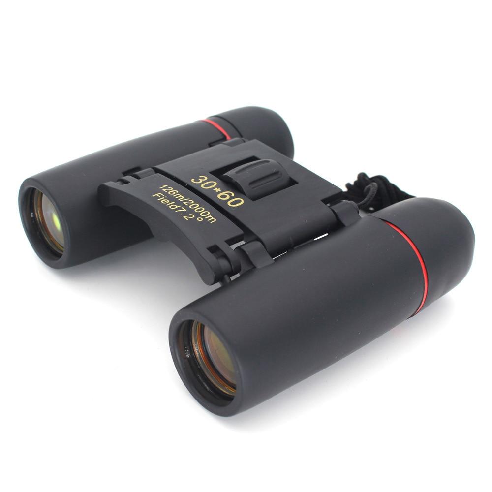 Camping Hunting Night Vision 30x60 Zoom Optical Military Binoculars Travel Telescope (126m-1000m ) telescopio Day and Night