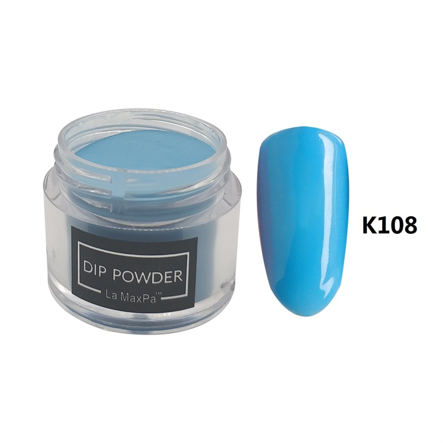 Nail Dip Powder Erfahrung: La MaxPa Colors Dipping Powder No Lamp Cure Nails Dip