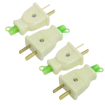 4 Pcs AC 250V 16Amp 2 Pin US AU Power Connector Head Electrical Plug 5pcs ac 250v 16a 2 pin us au power plug connector replacement