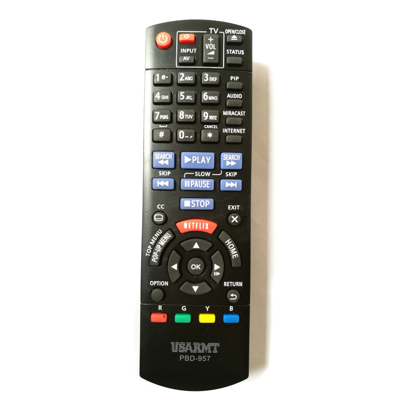 USARMT Brand New PBD 957 Replacement Remote Control For Panasonic font b BLU RAY b font