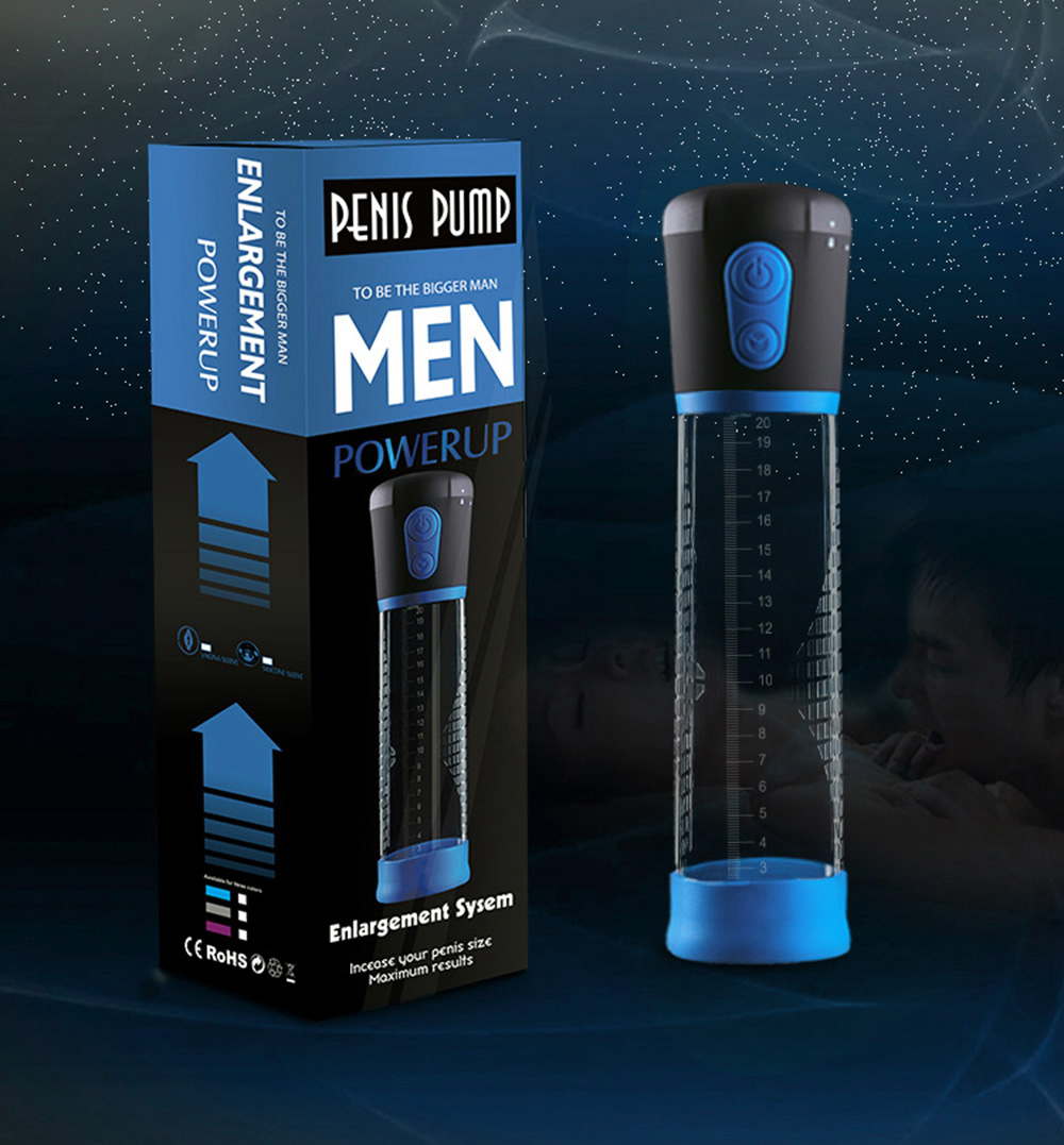 CANWIN Electric Penis Pump Enlargement Pump Enlarge Automatic Vacuum Suction Penis Extend Sex Toy Exercise Adult Product for Men 6