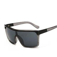 VISION Square Shield Sunglasses Men Driving 2017 Male Luxury