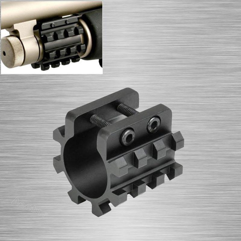 Mossberg  500 590 835 Maverick 12 gauge Mag Tube Barrel mount 5 Position rail