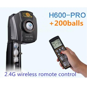 Image 2 - HUIPANG H600 PRO Table Tennis Robot/Machine Multifunctional With Recycle balls Net And 2.4 G Wireless Remote Control +200 balls