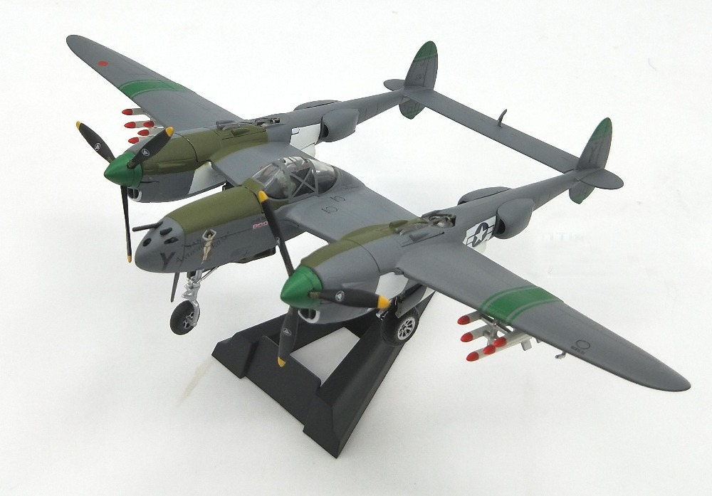Out of print 1:72 American P-38 fighter model Metal ornaments Alloy aircraft model Collection model rare gemini jets 1 72 cessna 172 n53417 sporty s flight school alloy aircraft model collection model