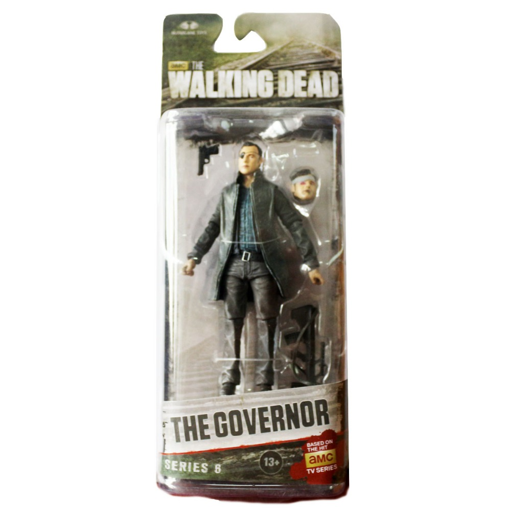 """Walking Dead The Governor TV Figure By McFarlane Toys 13cm/5"""" Free Shipping"""