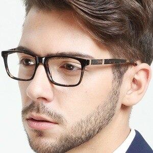 Image 5 - Gafas marcos hombres acetato marco óptico gafas  rectángulo Retro gafasMarco anteojos de la prescripción de los hombres OCCI CHIARI PRA