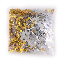 15g Gold Sliver Mix Color Christmas Deer Star Confetti  Sequins Gift DIY Home Decoration