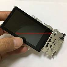 إصلاح قطع غيار سوني ILCE 6000 ILCE 6000L A6000 شاشة الكريستال السائل وحدة الشاشة مع قوس الوجه المفصلي الكابلات المرنة