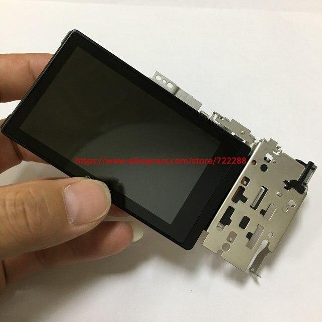 Reparatie Onderdelen Voor Sony ILCE 6000 ILCE 6000L A6000 Lcd scherm Unit Met Flip Beugel Scharnier Flex Kabel