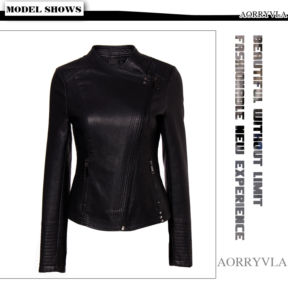 Leather Jacket Woman (1)