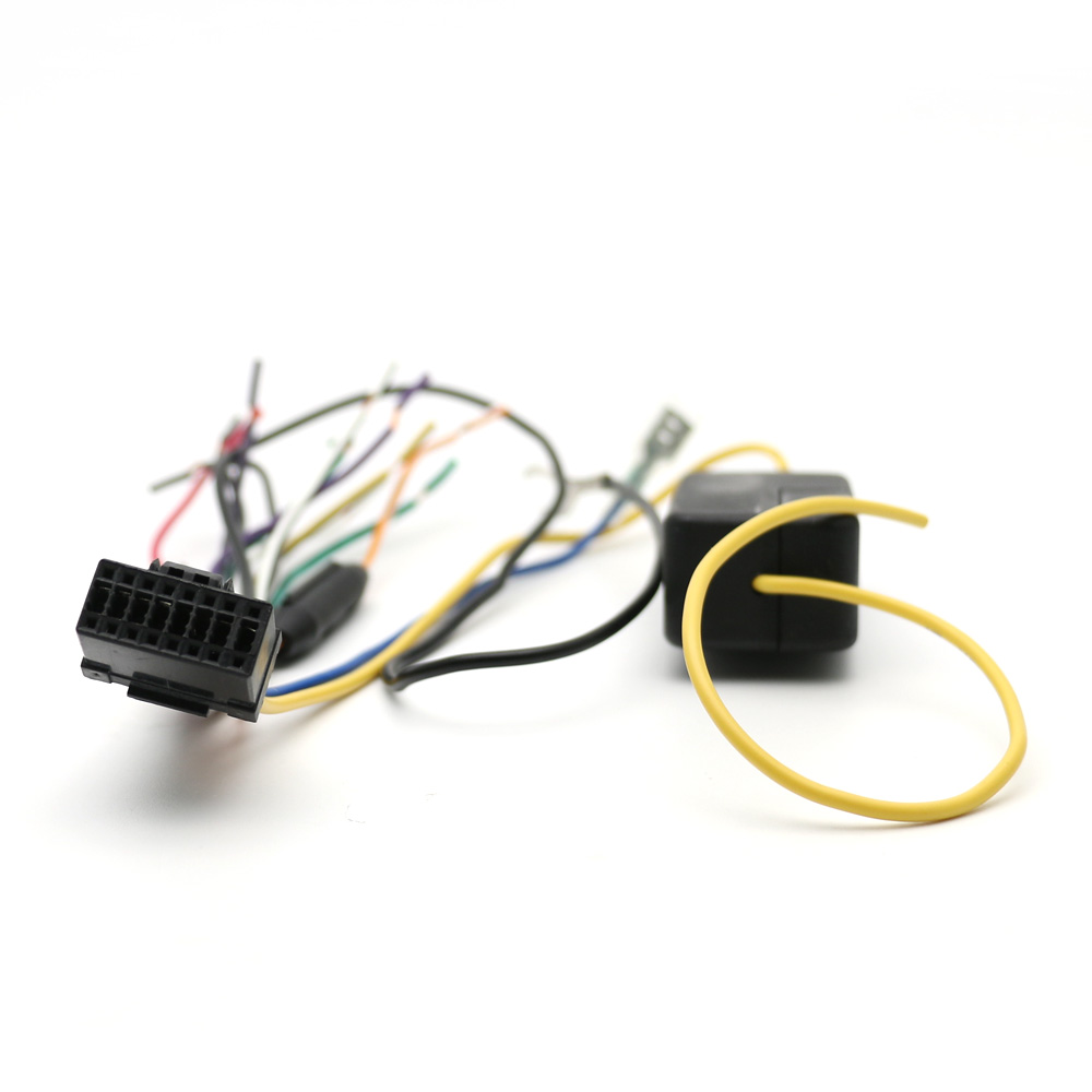 Atocoto Car Power Stereo Radio Wire Harness With Fuse Cable For My Internal Wiring Connector Adapter Pioneer Deh P8600mp P8450mp P860mp P960mp In Cables Adapters Sockets