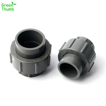 2pcs//lot 40 50mm To 20~40mm PVC Reducing Straight Joints Agricultural Irrigation Garden Water Connectors Aquarium Tank DIY Tools Color : 50 25mm, Diameter : Gray