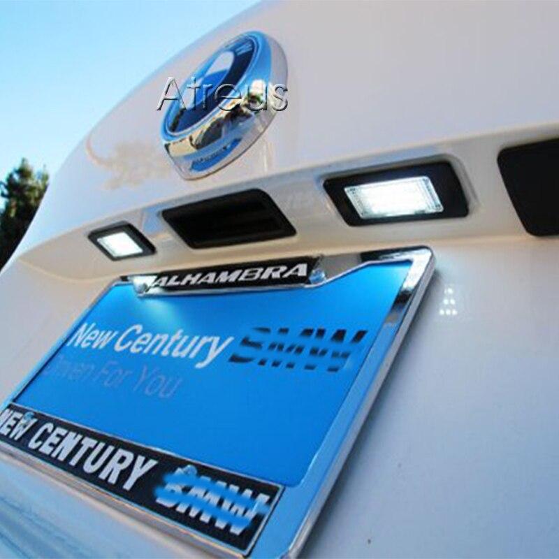 Atreus automobilsko LED registarsko svjetlo za BMW E39 E60 M5 E90 E82 - Svjetla automobila - Foto 6