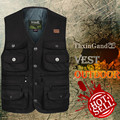 2016 Multi Function Men Vests High Quality Casual Pocket Photography Male Vest
