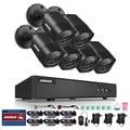 ANNKE 8-КАНАЛЬНЫЙ 720 P Системы Безопасности 1080 P Lite Цифровой Видеомагнитофон и (6) 1280TVL Открытый Фиксированным Всепогодный камеры, Выход HDMI