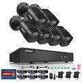 Annke 8ch 720 p sistema de segurança gravador de vídeo digital de 1080 p lite e (6) 1280tvl fixa ao ar livre à prova de intempéries câmeras, Saída HDMI