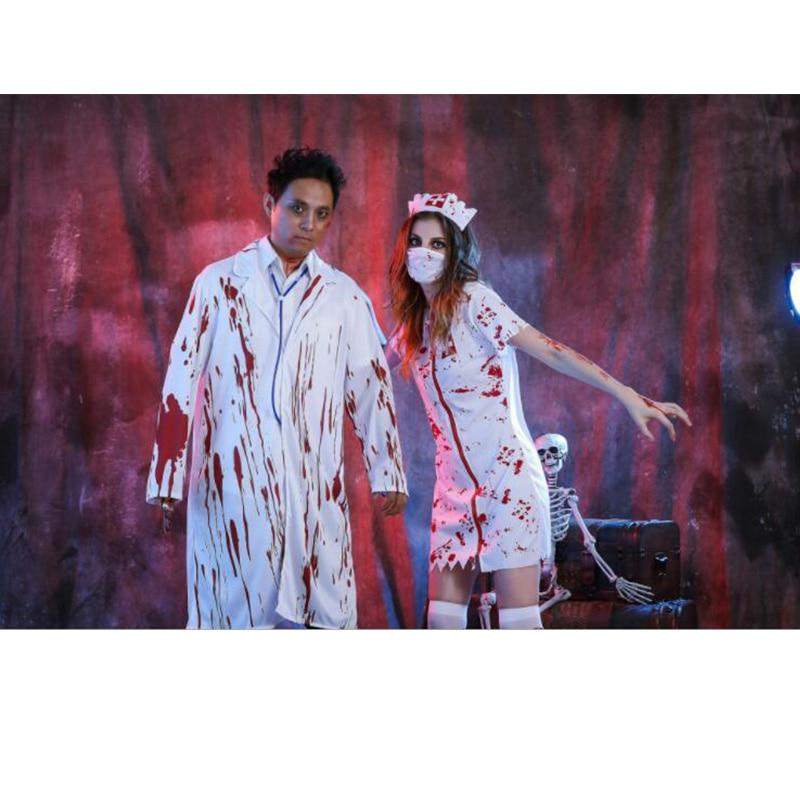 Halloween Costumes Dress Up Terrorist Zombie Under Adult Ghost Bride ...