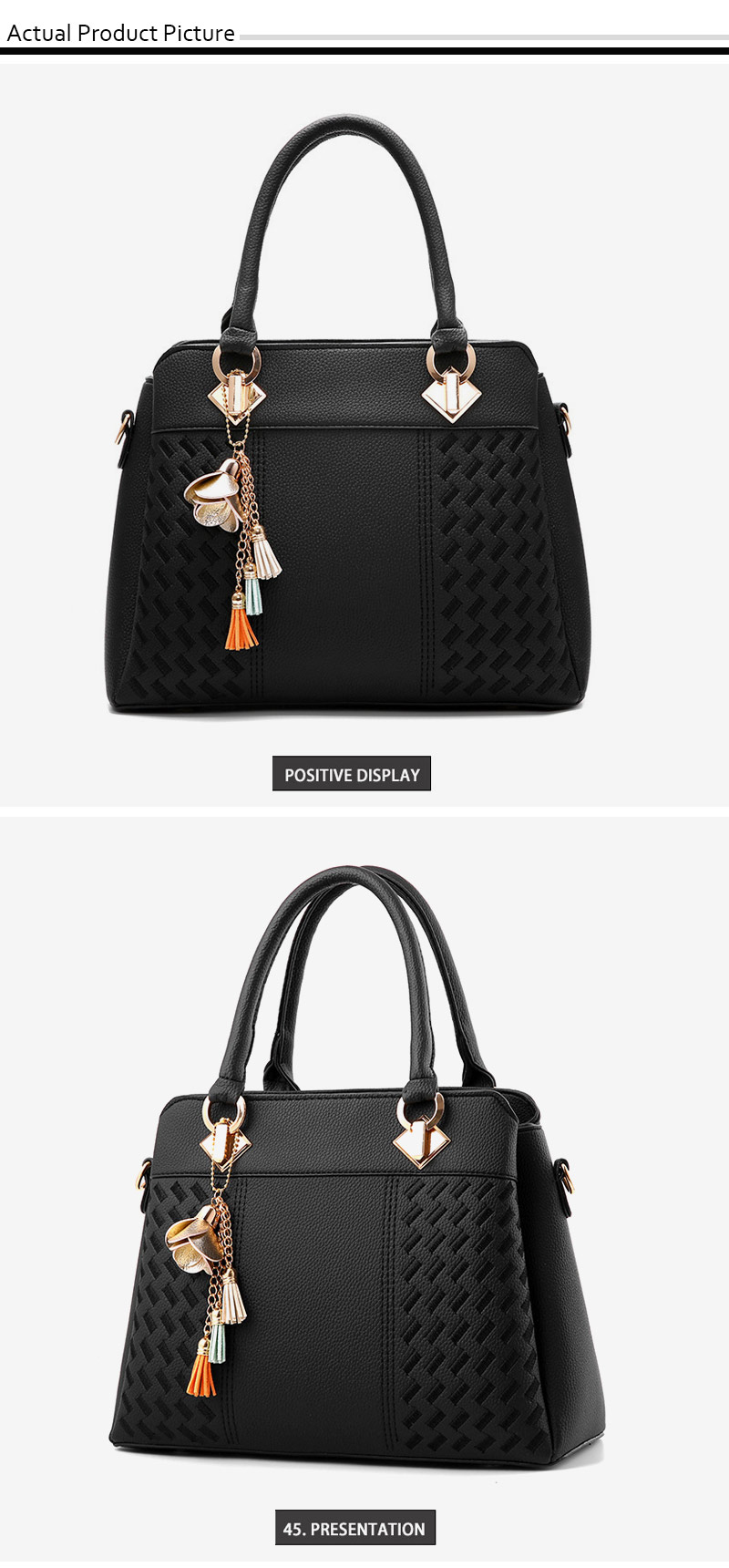 STSR Leather Clutch Bag Female Handbag Luxury Beach Tote Ms. Fringe Shoulder Bag Tote gray one size 15