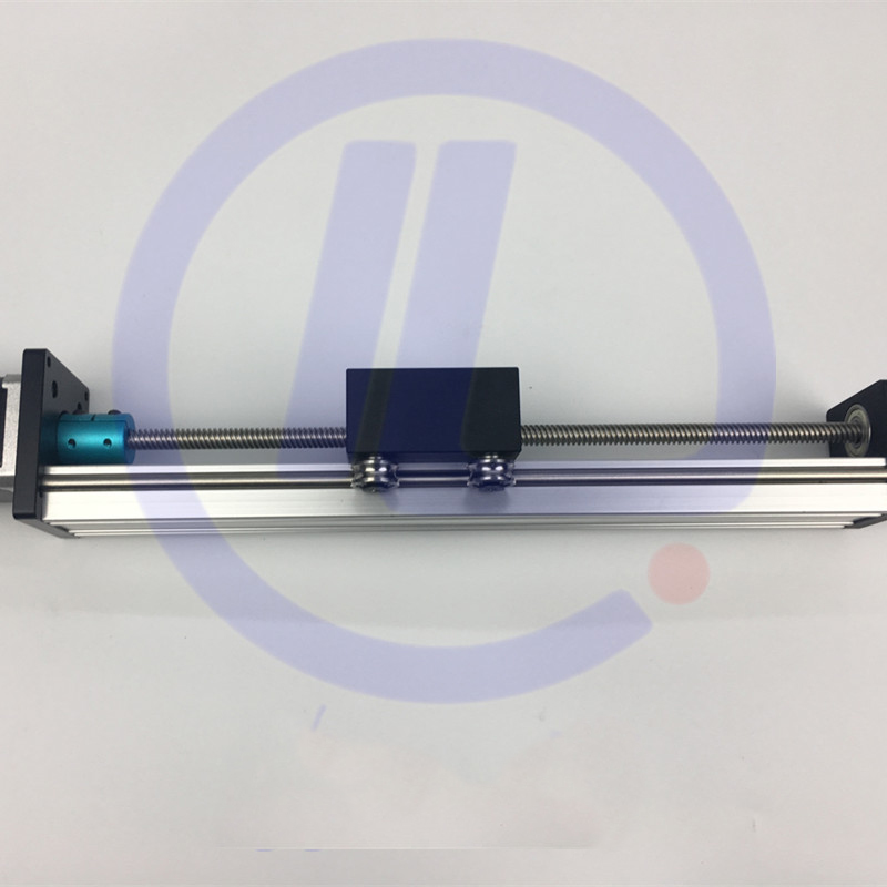 CNC STK 8*8 ballscrew Screw slide module effective stroke 150mm Guide Rail XYZ axis Linear motion+1pc nema 23 stepper motor cnc stk 8 8 ballscrew screw slide module effective stroke 150mm guide rail xyz axis linear motion 1pc nema 23 stepper motor
