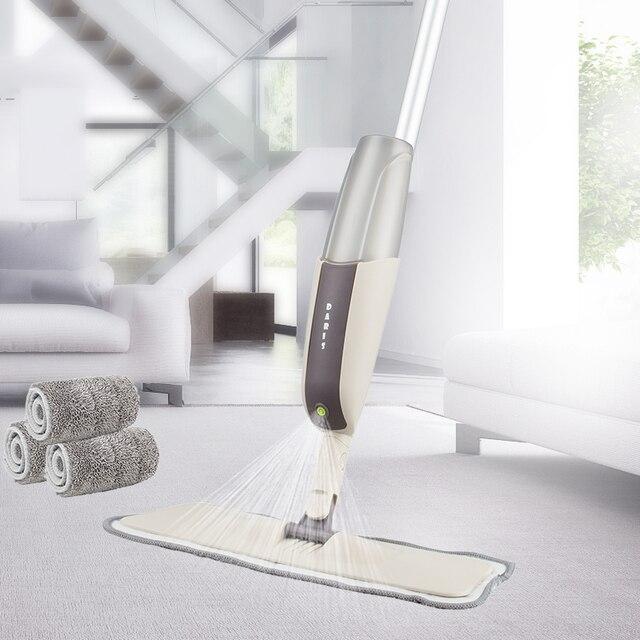 Magic Spray Mop Microfiber Cloth Floor Windows Clean Mop: Microfiber Cloth Spray Mop Floor High Quality Cleaning