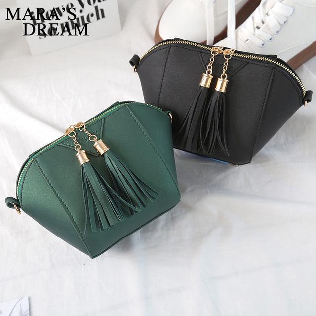 Crossbody Small Messenger Shoulder Tassel Bag